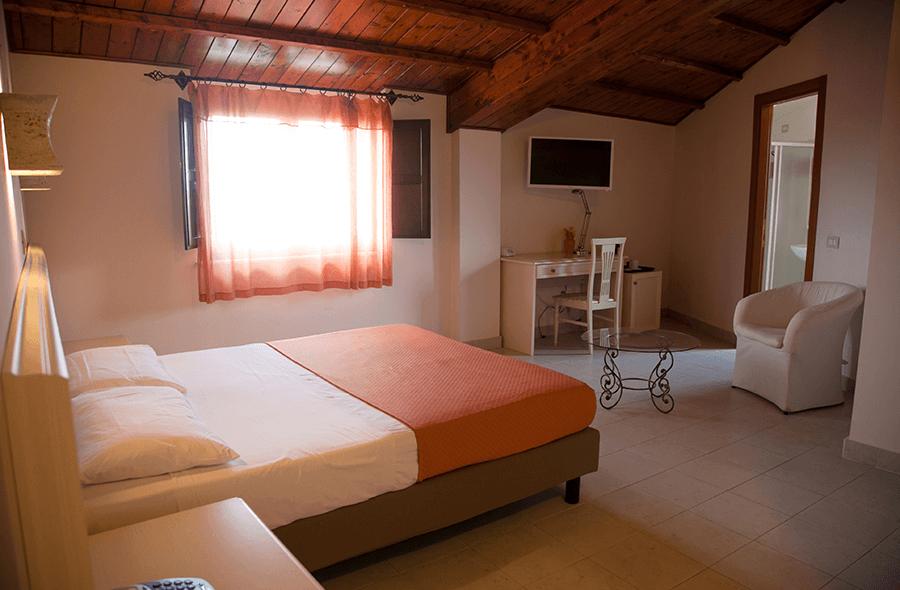 camera matrimoniale domus romulea hotel bisaccia
