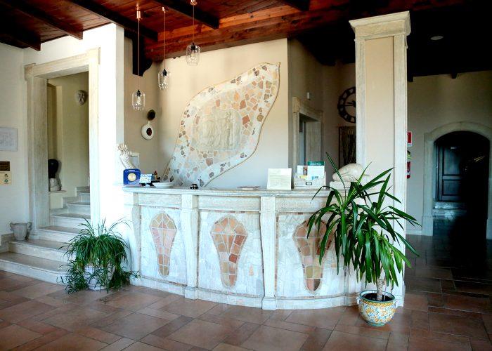 Reception Domus Romulea Hotel Bisaccia Irpinia