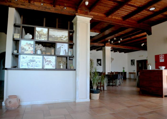 Sala Ristorante Domus Romulea Albergo Locanda Bisaccia Avellino